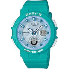 Электронные часы женские Casio G-Shock Baby-g bga-250-2a Light Blue