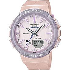Электронные часы женские Casio G-Shock Baby-g bgs-100sc-4a Pink
