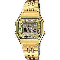 Электронные часы женские Casio Collection La680wega-9c Gold