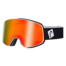 Маска для сноуборда Head Horizon Fmr+Sparelens Unisex+Доп Линза Yellow/Red Black