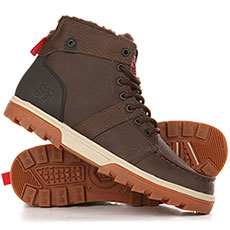 Ботинки зимние DC Shoes Woodland Boot Brown/Green/Black