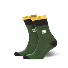 Носки средние DC Shoes To Me Two Hunter Green