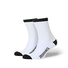 Носки Запорожец Футбол Backside Белый/Черный