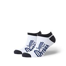 Носки Запорожец Футбол Печать Белый/Темно-синий
