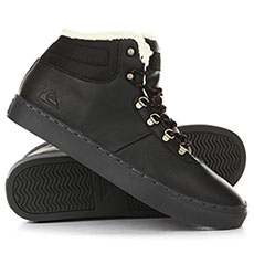 Кеды зимние QUIKSILVER Jax Ii Black/Black/Brown