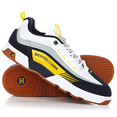 Кеды низкие DC Legacy 98 Slim S White/Yellow/Blue
