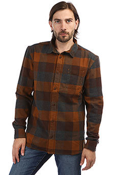 Рубашка в клетку QUIKSILVER Stretchflannel Stretch Flannel Rubb