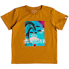 Футболка детская QUIKSILVER Superfujiboy Inca Gold