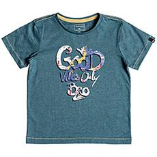 Футболка детская QUIKSILVER Goodvibesboy Tapestry Heather