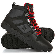 Ботинки высокие DC Pure Ht Wr Boot Black/Grey/Red
