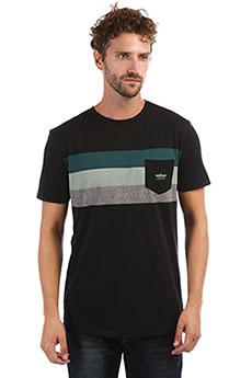 Футболка QUIKSILVER Peacefulprogres Black
