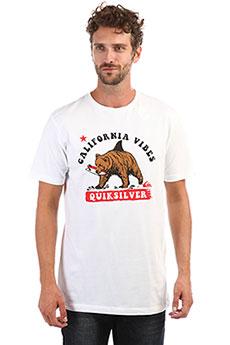 Футболка QUIKSILVER Bearshark White