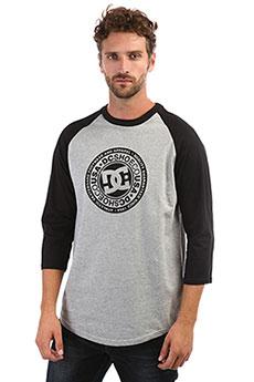 Лонгслив DC Research 3/4 Ra Black/Grey Heather