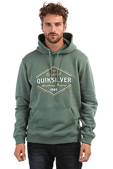 Толстовка кенгуру QUIKSILVER Nowherenorthhoo Dark Forest