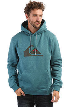 Толстовка кенгуру QUIKSILVER Big Logo Hood Tapestry Heather
