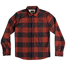 Рубашка в клетку детская QUIKSILVER Motherflyflanny Barn Red Motherfly
