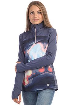 Толстовка сноубордическая женская Roxy Snow Piercer Ls Coral Cloud Dusk Swi
