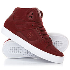 Кеды высокие DC Pure High-top Wc Burgundy
