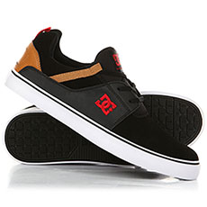 Кеды низкие DC Heathrow Vulc Black/Camel