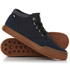 Кеды высокие QUIKSILVER Verant Mid Blue/Brown/Blue