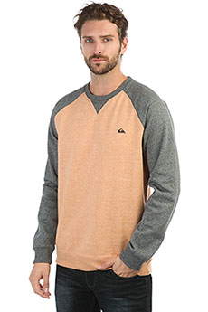 Толстовка свитшот QUIKSILVER Everydaycrew Inca Gold Heather