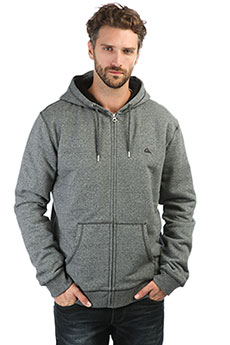 Толстовка утепленная QUIKSILVER Everydaysher Dark Grey Heather