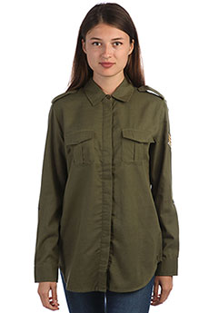 Рубашка женская Roxy Militaryinfluen Burnt Olive