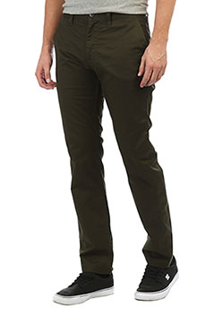Штаны прямые DC Worker Straight Dark Olive
