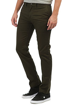 Штаны узкие DC Worker Slim Dark Olive