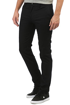 Штаны узкие DC Worker Slim Black