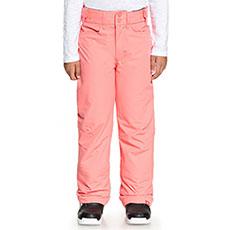 Штаны сноубордические детские Roxy Backyard Girl Shell Pink
