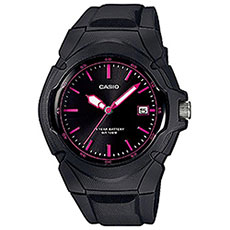 Кварцевые часы Casio Collection lx-610-1a2vef Black/Pink