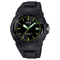 Кварцевые часы Casio Collection lx-610-1avef Black/Green