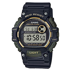 Электронные часы Casio Collection trt-110h-1a2vef Navy/Green