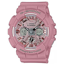Электронные часы Casio G-Shock gma-s120dp-4aer Pink