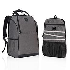 Рюкзак (чехол Для Ноутбука В Комплекте) Серый Hynes Eagle