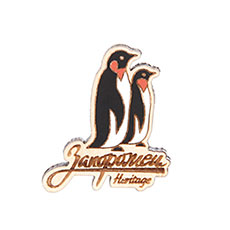 Значок Запорожец Х Waf-waf Пингвины