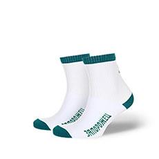 Носки Запорожец Утка Backside Белый/Зеленый
