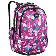 Рюкзак школьный женский Rip Curl Trischool Flora Purple