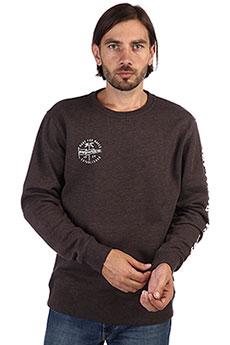 Толстовка классическая Rip Curl Iconic Crew Fleece Mole Marle