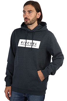 Толстовка кенгуру Rip Curl Underline Fleece Midnight Navy Marle