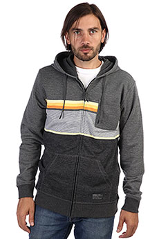 Толстовка классическая Rip Curl Yarn Dyed Stripe Hz Fleece Dark Marle