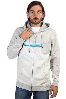 Толстовка классическая Rip Curl Yarn Dyed Stripe Hz Fleece Cement Marle