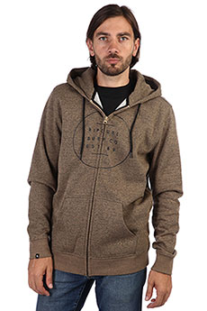 Толстовка классическая Rip Curl All Around Surf Fleece Sepia Tint Marle