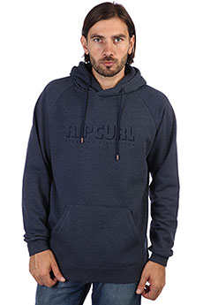 Толстовка кенгуру Rip Curl Pipe Dream Fleece Mood Indigo Marle