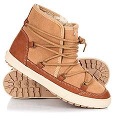 Ботинки зимние женские Roxy Darwin Boot Camel