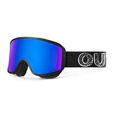 Маска для сноуборда OUT OF Shift Маска + Доп Линза Blackboard(blue Mci)