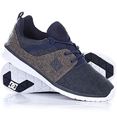 Кроссовки DC Heathrow Tx Se Navy/Grey