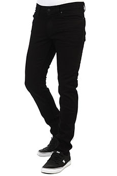 Джинсы узкие DC Worker Slim Sbr Black Rinse