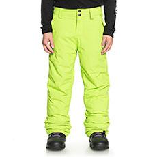 Штаны сноубордические детский QUIKSILVER Estate Yth Pt Lime Green